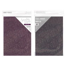 Load image into Gallery viewer, Craft Perfect - Speciality Card - Hand Crafted Cotton A4 - Tropical Nights (5/PK) - 9888e