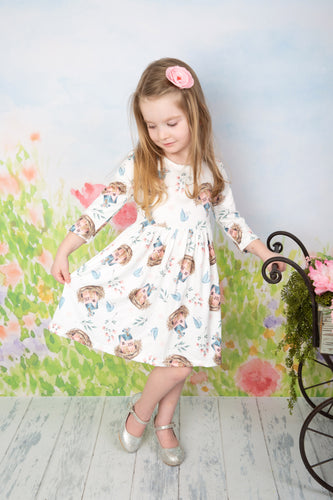 Soft Birdhouse Dress