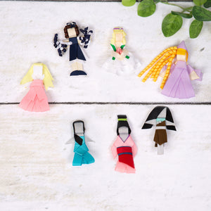 Character Inspired Hair Clips
