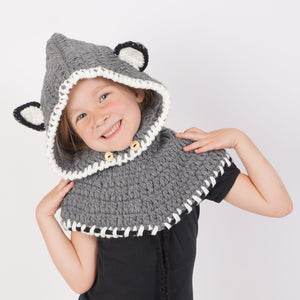 Extra Soft, Luxury Wolf Cowls