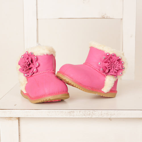 Toddler Winter Flower Boots