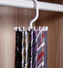 Load image into Gallery viewer, Rotating Tie Rack Hanger