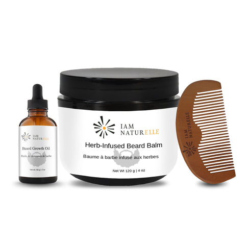 All-Natural Beard Growth Kit - I Am Naturelle