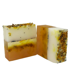Poppy Seed Calendula Soap Bar - I Am Naturelle