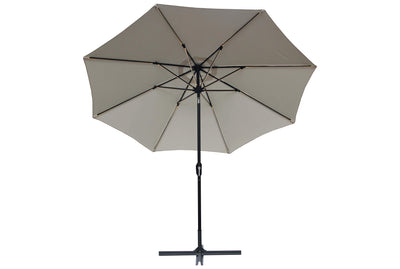 LED-Umbrella Off White