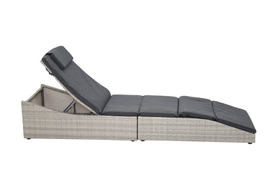 Lorenzo Lounger Grey