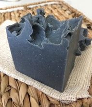 Load image into Gallery viewer, Activated Charcoal Soap + Patchouli Activated Charcoal Milk with Bentonite Clay