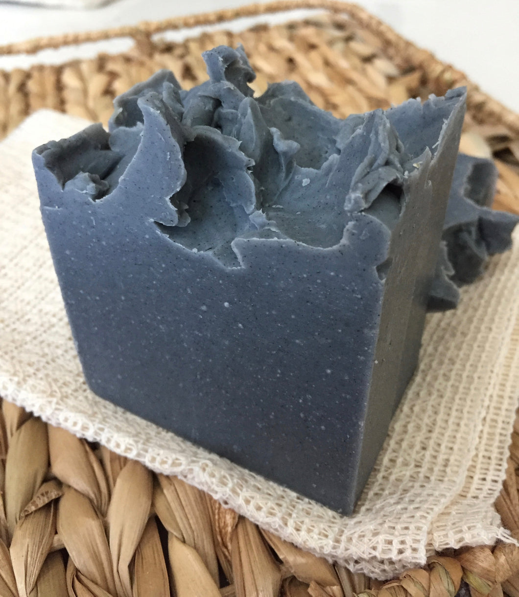 Activated Charcoal Soap + Patchouli Activated Charcoal Milk with Bentonite Clay