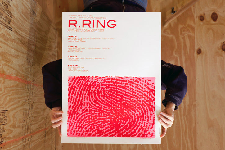 R.Ring Poster