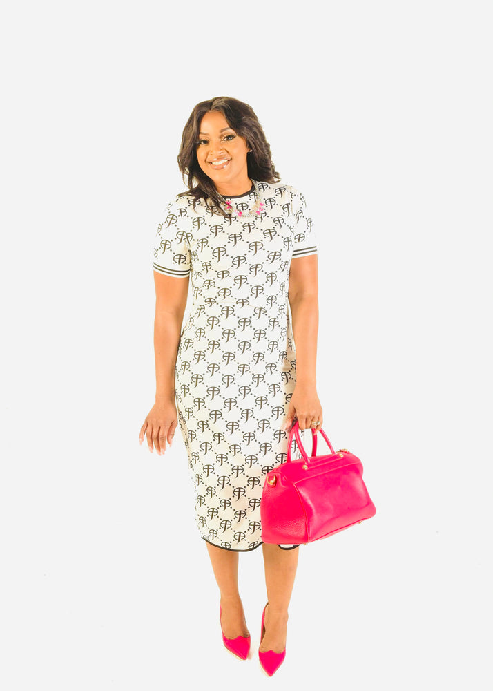 CCF Signature Purity Jersey Cotton Dress