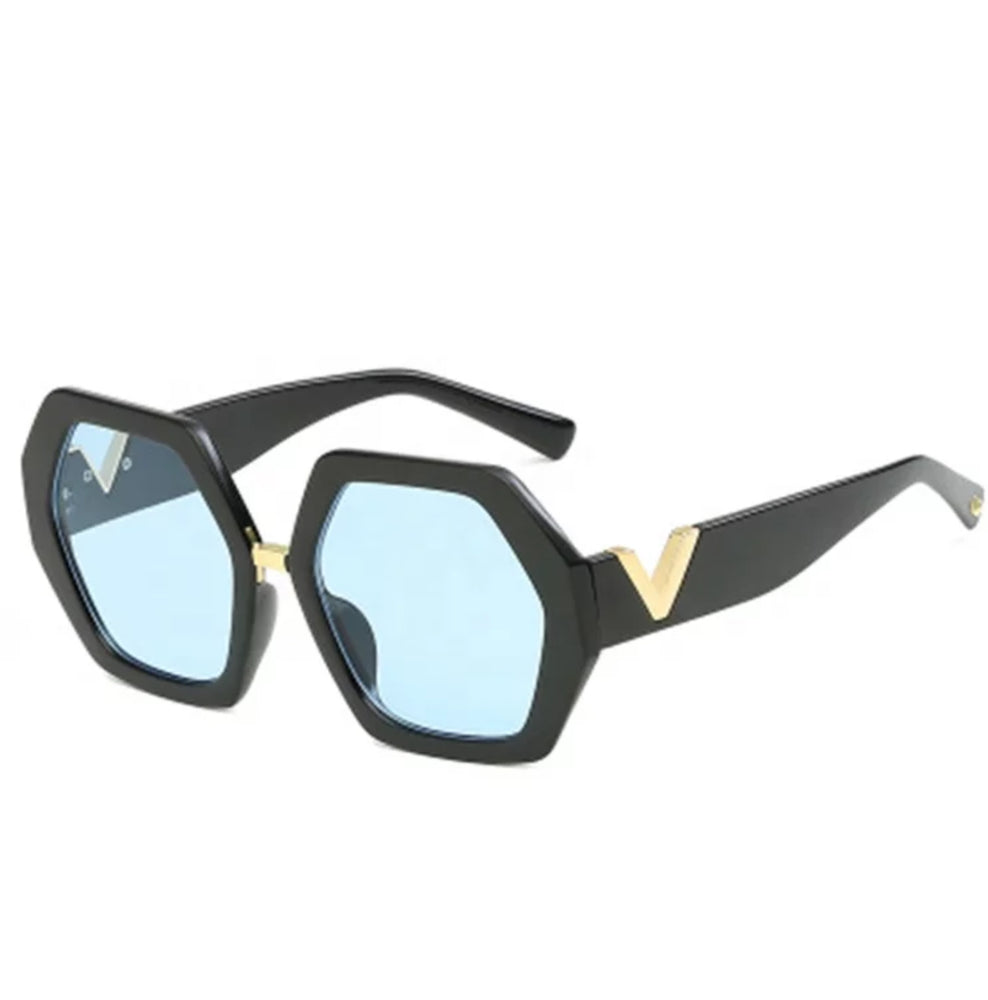 CC Vintage Hexagon Sunglass