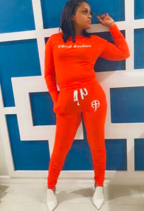 CC Ruched Tracksuit Set