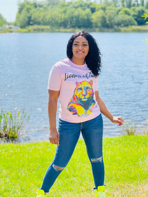 "CC ""Lioness of God"" Women T-Shirt"