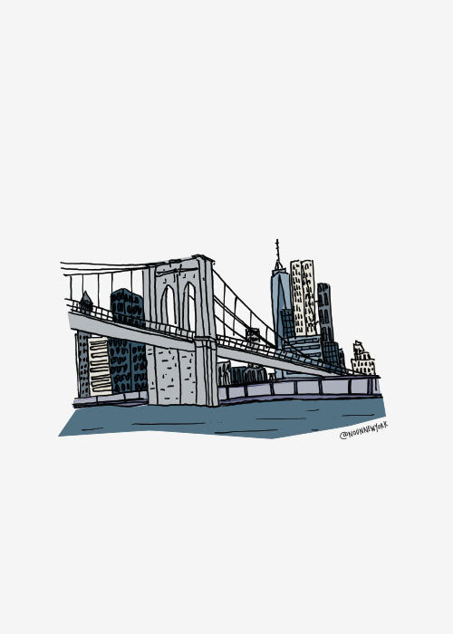 Brooklyn Bridge Print