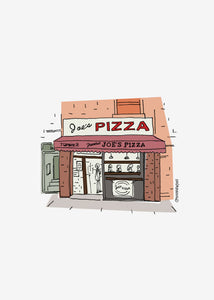 Joe's Pizza Print