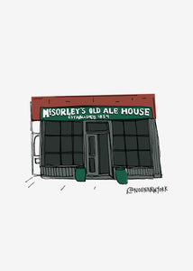 McSorley's Ale House Print