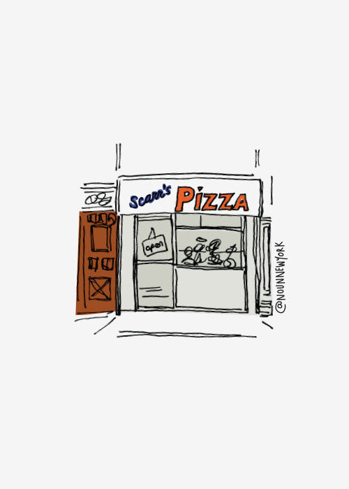 Scarr's Pizza Print