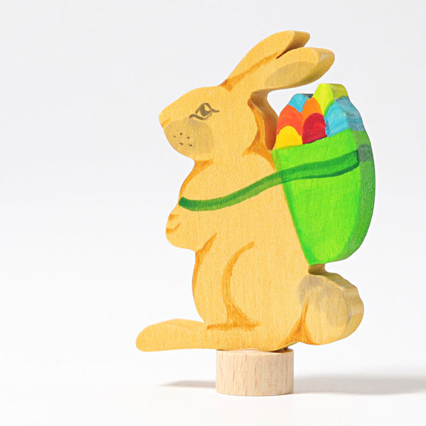 Grimm's Rabbit with Basket Malaysia - Bueno Blocks