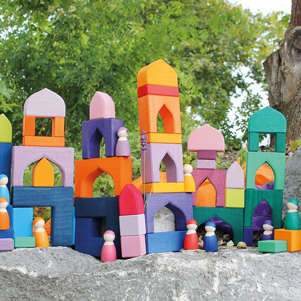 Grimm's Building Set 1001 Nights Malaysia - Bueno Blocks