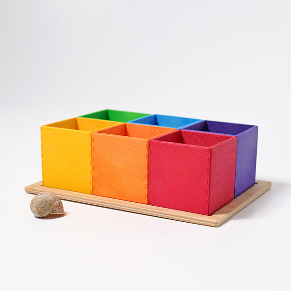 Grimm's 6-piece Sorting Helper Malaysia - Bueno Blocks