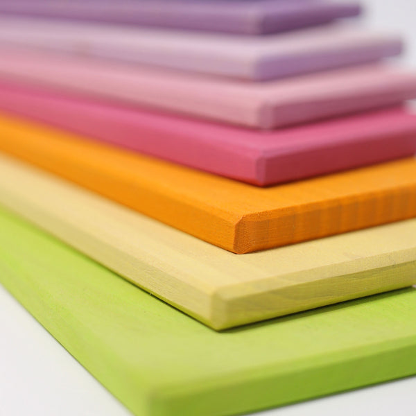 Grimm's Pastel Building Boards Malaysia - Bueno Blocks