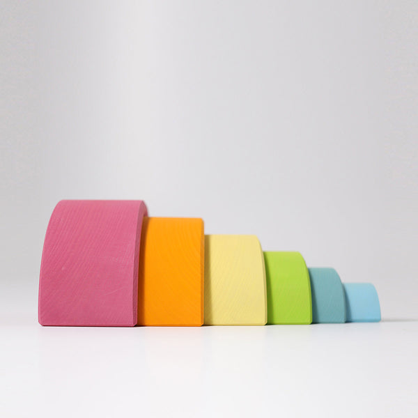 Grimm's Rainbow Pastel - Bueno Blocks