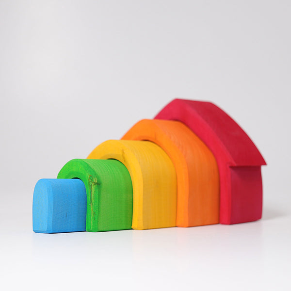 Grimm's Colorful House - Bueno Blocks