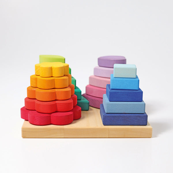 Grimm's Stacking Game Shapes Malaysia - Bueno Blocks
