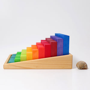 Grimm's Small Stepped Counting Blocks Malaysia - Bueno Blocks