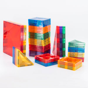 Connetix Tiles 62 Pieces Set - Starter Pack - Bueno Blocks