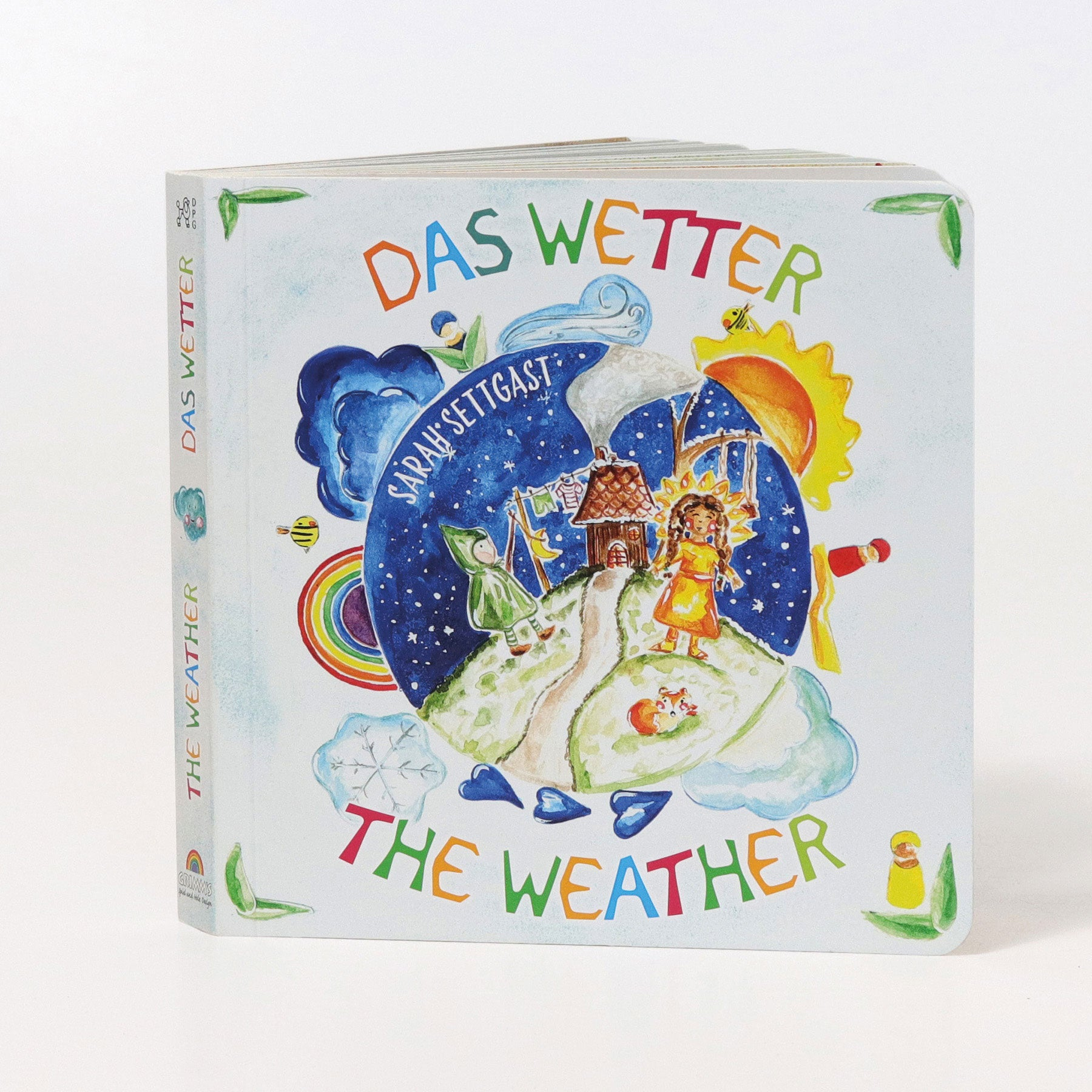 Grimm's The Weather Cardboard Book - Bueno Blocks