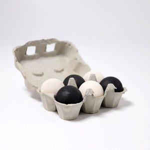 Grimm's Large Monochrome Balls - Bueno Blocks