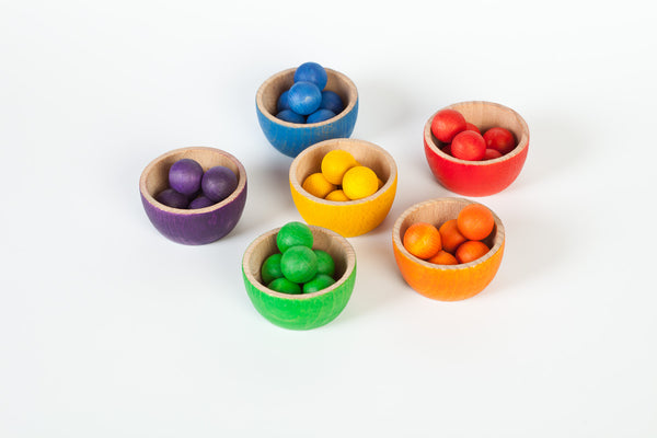 Grapat Bowls & Marbles - Bueno Blocks
