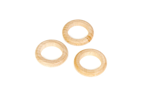 Grapat 3 Rings Natural Wood