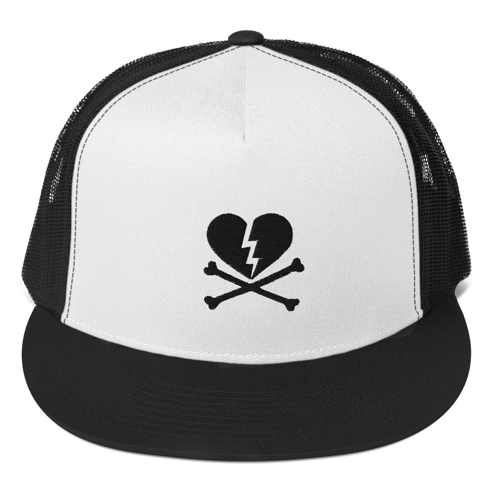 NO LOVE BLACK HEARTS  Trucker Cap