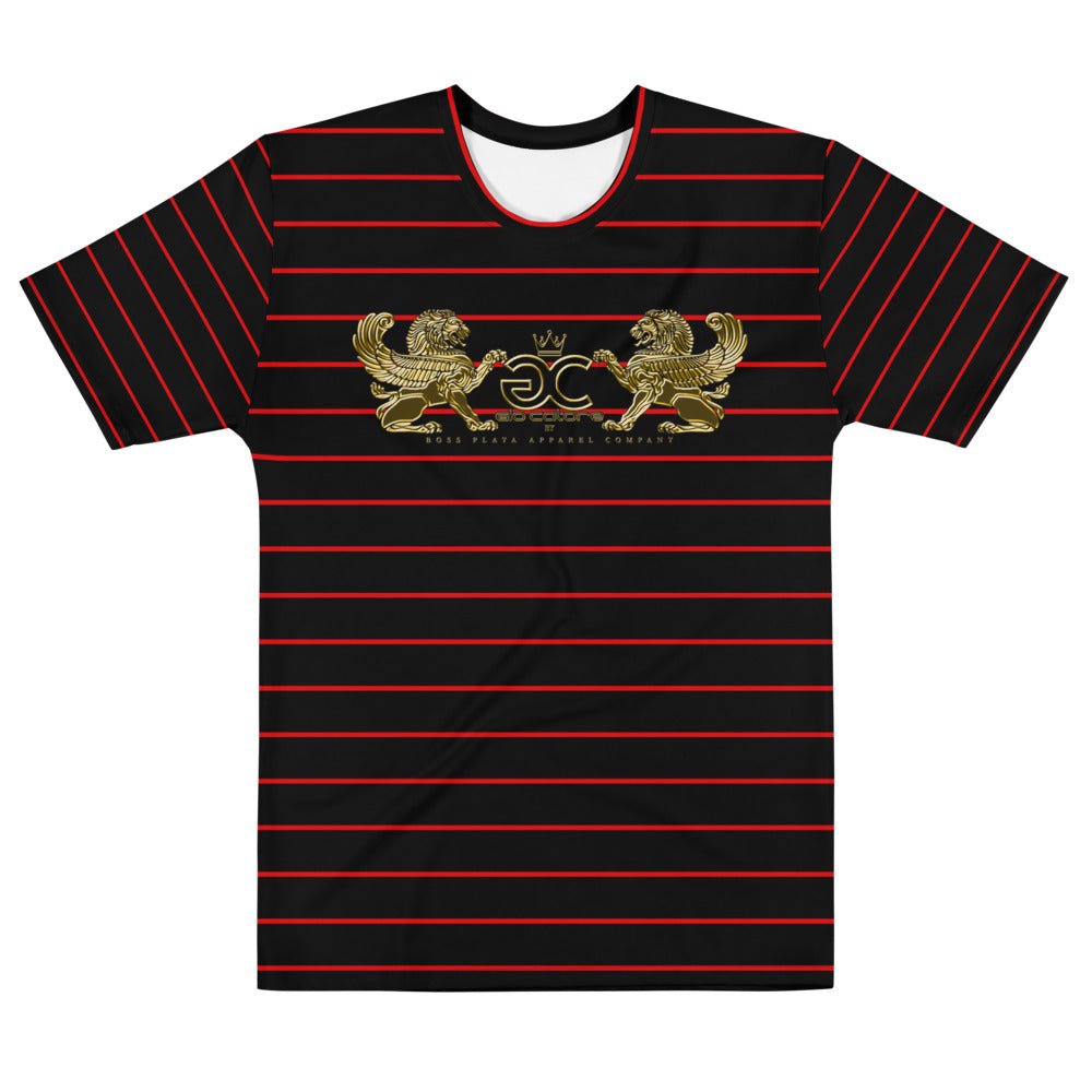 GIO CATORE RED/BLK WINGED LION Men's T-shirt