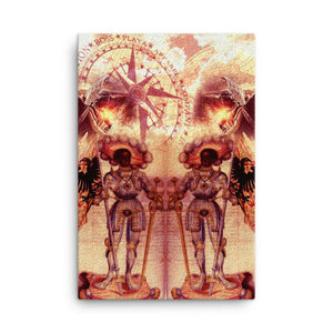 BLACK SAINT MAURICE Canvas