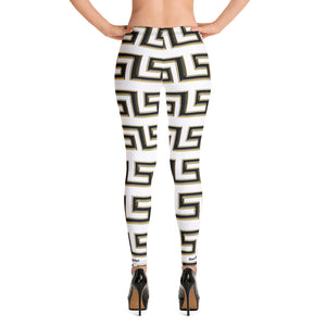 BP Queen Leggings (WHT)