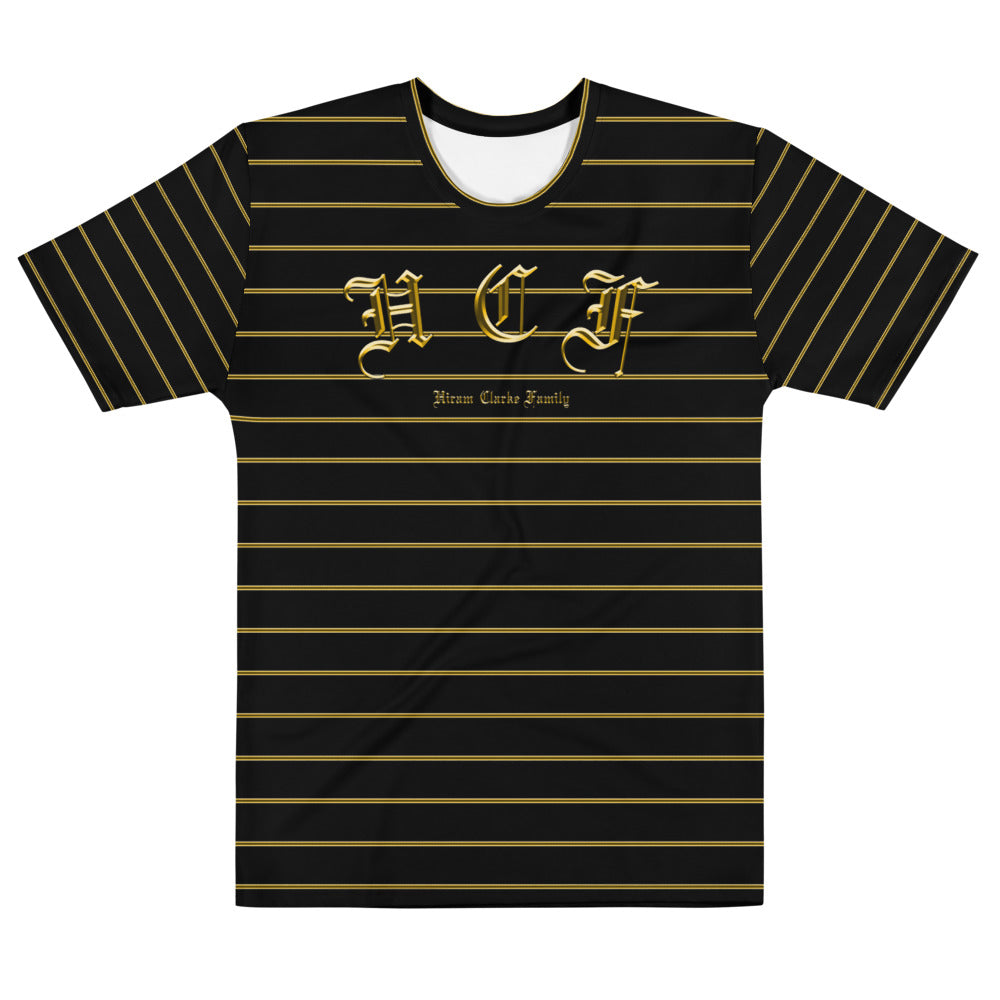 H.C.F Gold Stripe Tee
