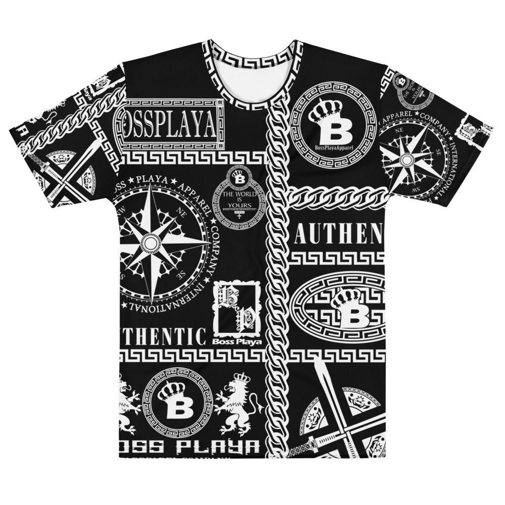 BP SYMBOLS (BLK) Men's T-shirt