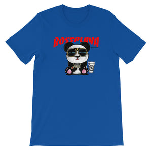 Boss Playa Panda Bear Short-Sleeve Unisex T-Shirt