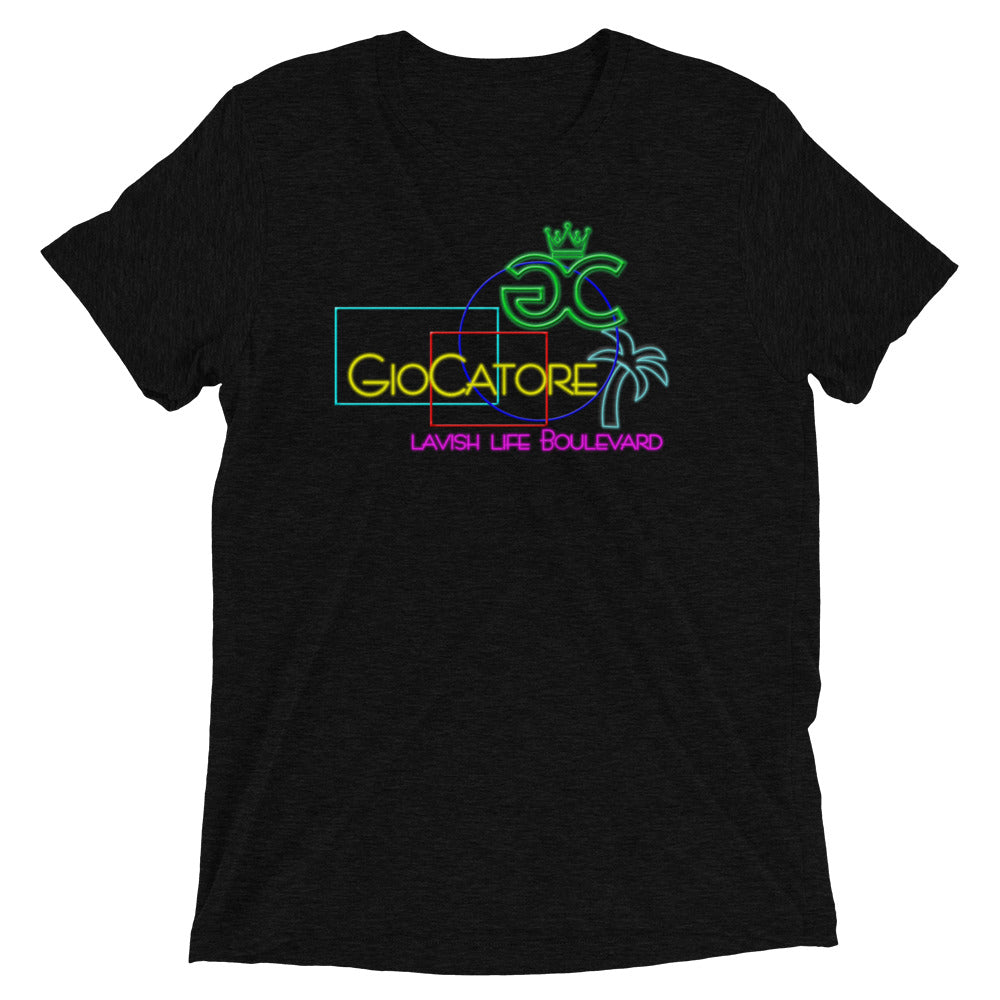 GioCatore Neon Lavish Life Blvd Short sleeve t-shirt