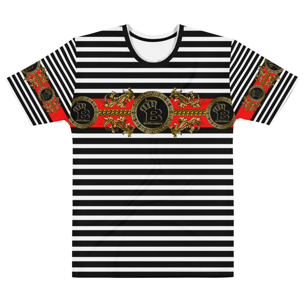 PLAYAZ CHOICE Men's Striped T-shirt