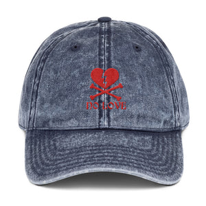 No Love Vintage Cotton Twill Cap
