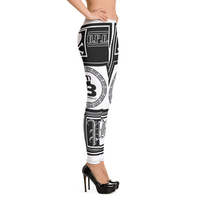 Ladies Boss Playa Print Leggings