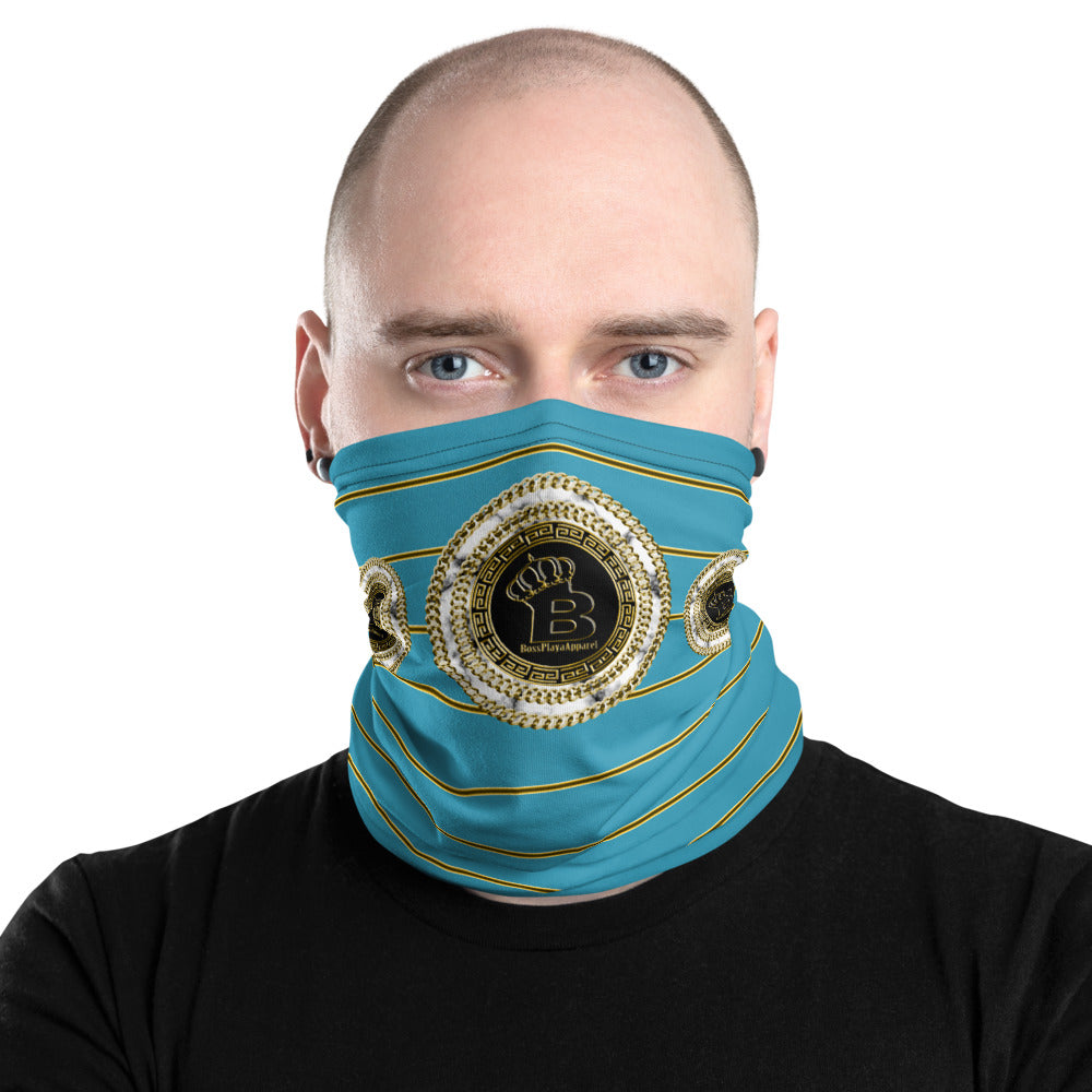 Boss Playa  Lite Blue Neck Gaiter