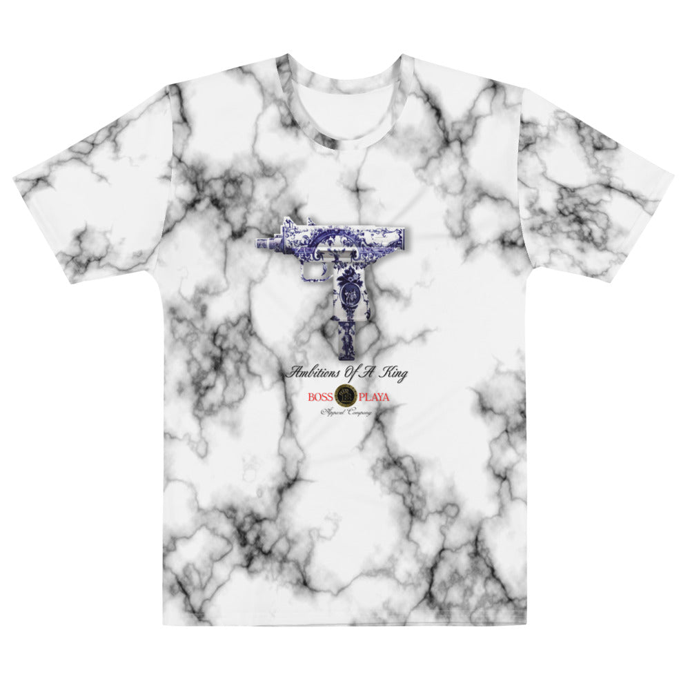 AMBITIONS OF A KING MARBLE Men's T-shirt