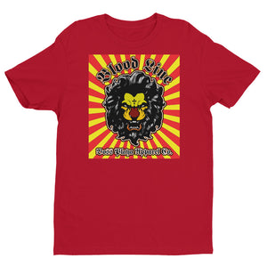 BLOOD LINE SUN BURST Short Sleeve T-shirt