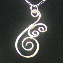 Load image into Gallery viewer, Silver Swirl - Pendant