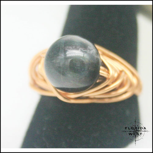 Copper Jasper Handmade Ring - Jewelry Hand Made